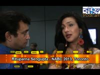 Rituparna Sengupta on NABC 2013
